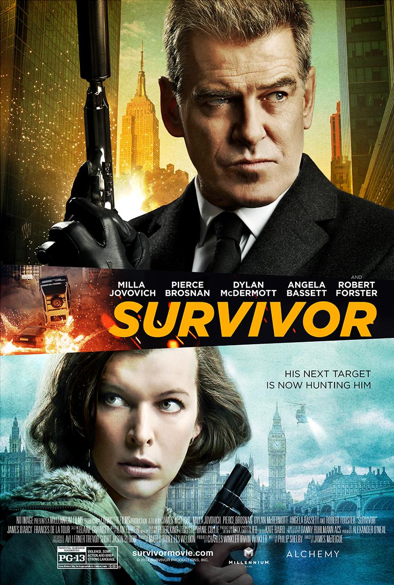 Πόστερ της ταινίας «Καταδίωξη σε Δύο Ηπείρους (2015)   Survivor»