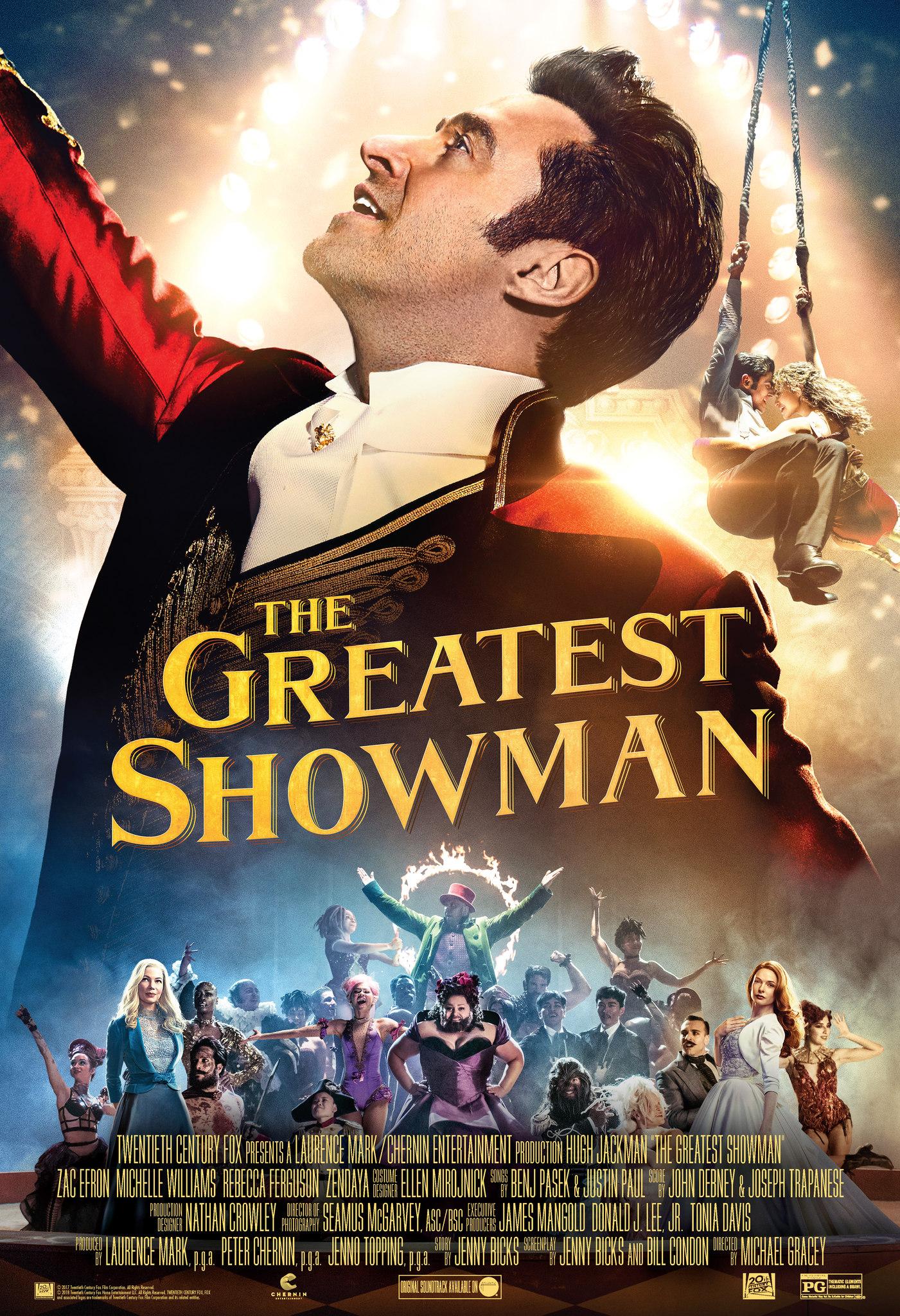 Πόστερ της ταινίας «The Greatest Showman (2017)»