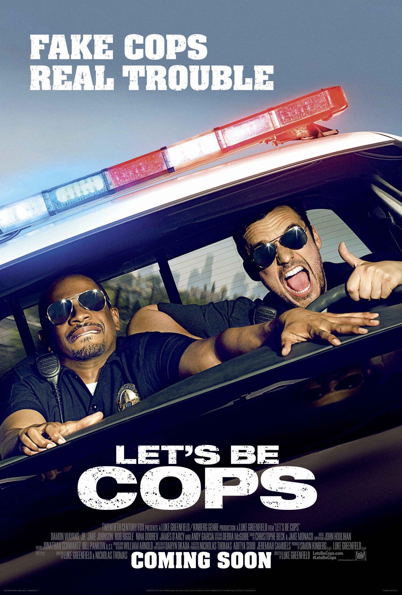 Πόστερ της ταινίας «Ας Γίνουμε Μπάτσοι (2014)   Let's Be Cops»