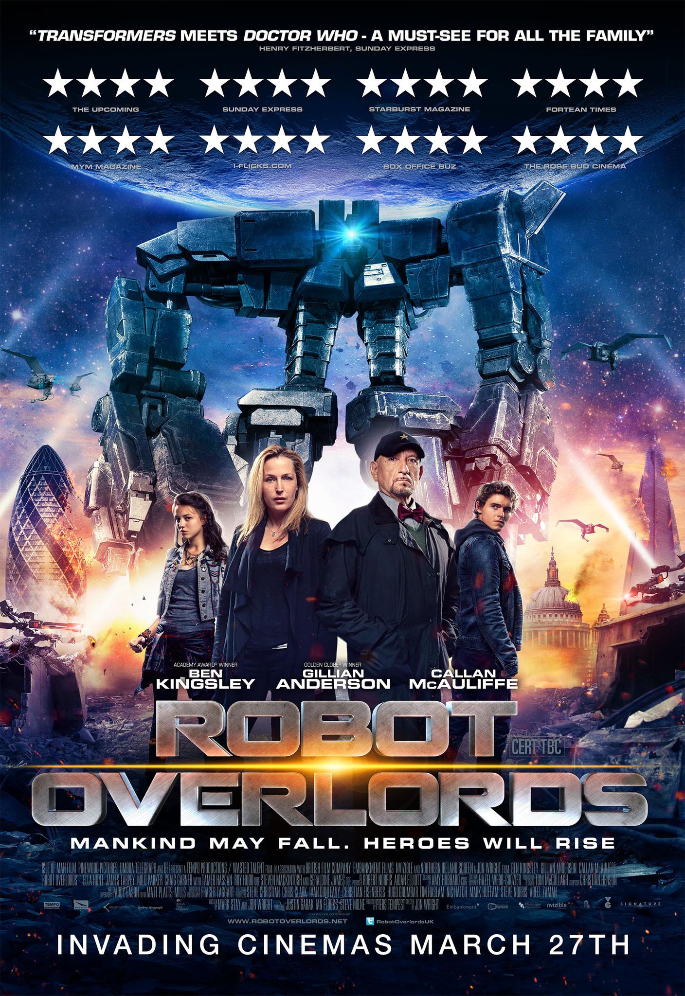 Πόστερ της ταινίας «Η Εισβολή των Ρομπότ (2014) | Robot Overlords»
