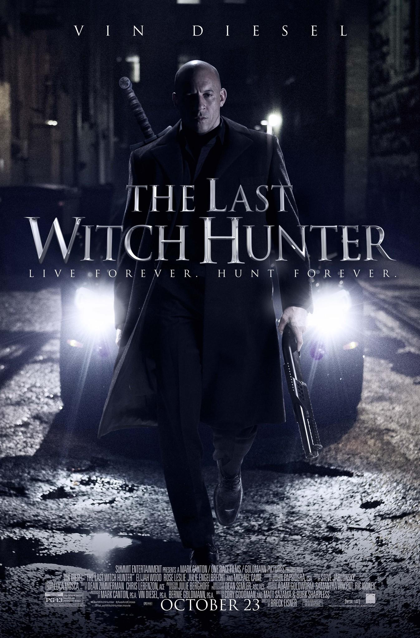 Πόστερ της ταινίας «Ο Τελευταίος Κυνηγός Μαγισσών (2015)   The Last Witch Hunter»