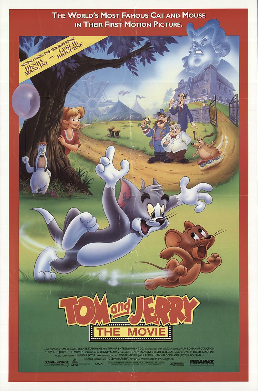 Πόστερ της ταινίας «Τομ & Τζέρυ: Η ταινία (1992)   Tom and Jerry: The Movie»