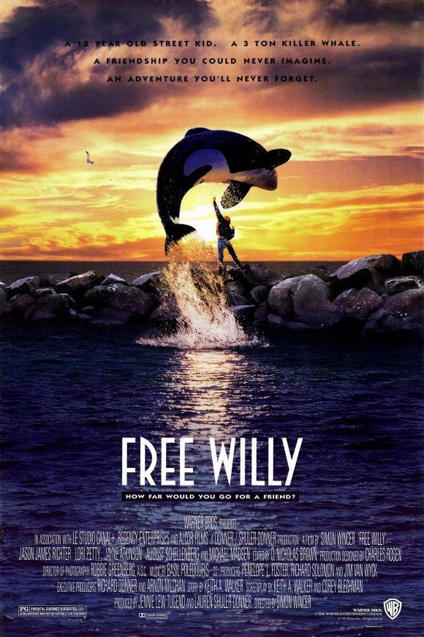 Πόστερ της ταινίας «Ελευθερώστε τον Γουίλι (1993) | Free Willy»