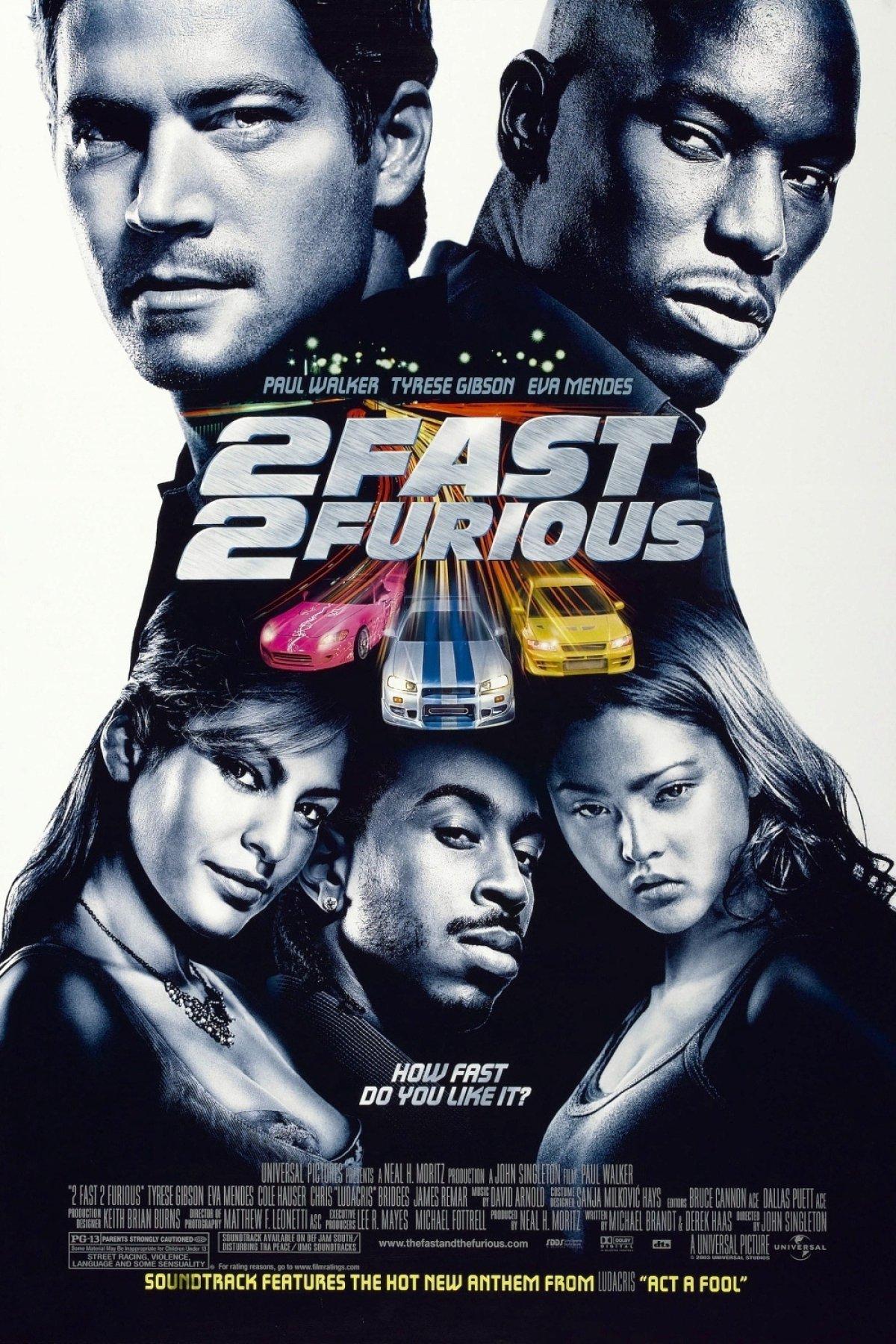 Πόστερ της ταινίας «Οι Μαχητές των Δρόμων 2 (2003) | 2 Fast 2 Furious»