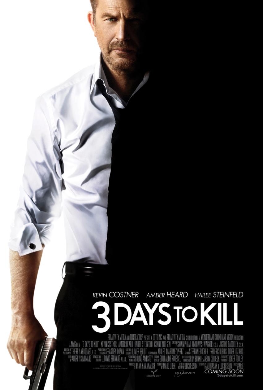 Πόστερ της ταινίας «3 Μέρες Διορία (2014)   3 Days to Kill»
