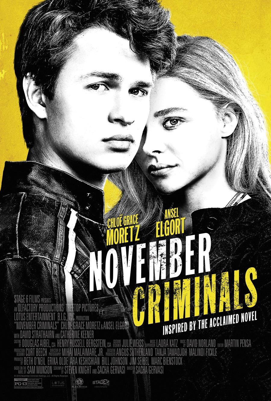 Πόστερ της ταινίας «Έγκλημα τον Νοέμβρη (2017) | November Criminals»