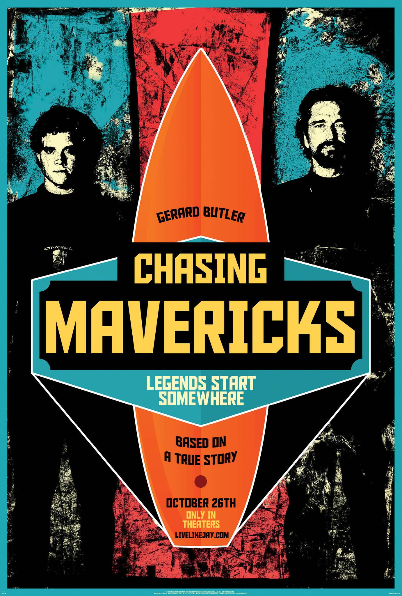 Πόστερ της ταινίας «Κυνηγώντας το Maverick (2012)   Chasing Mavericks»