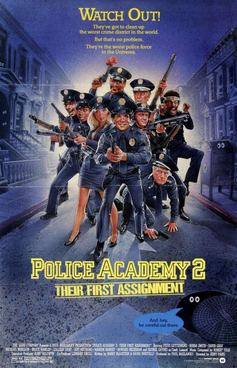 Πόστερ της ταινίας «Η Μεγάλη των Μπάτσων Σχολή Νο 2 (1985)»