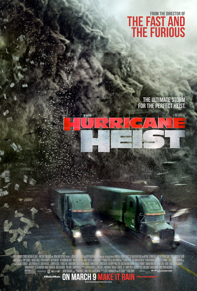 Πόστερ της ταινίας «Η συμμορία του τυφώνα (2018) | The Hurricane Heist»