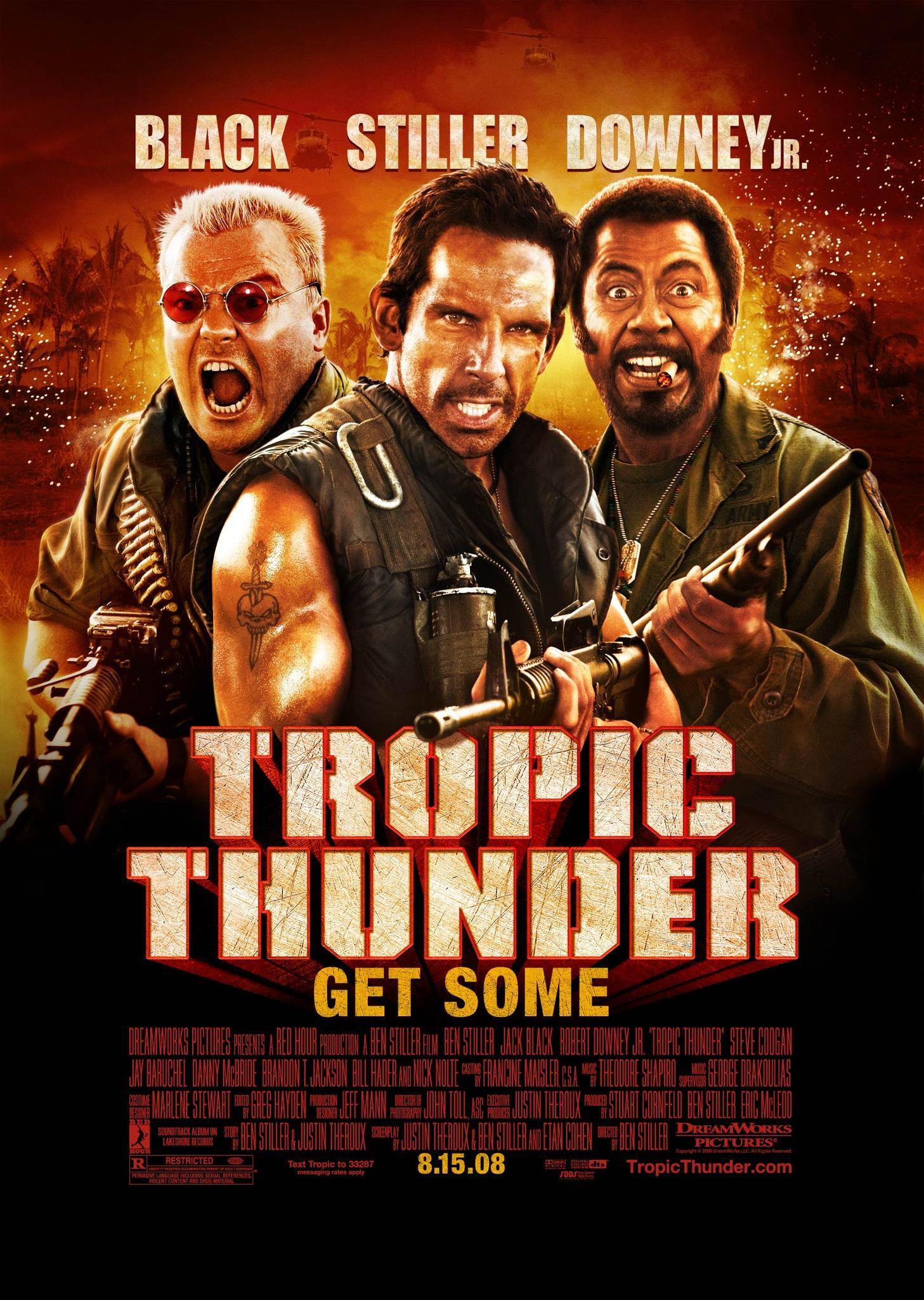 Πόστερ της ταινίας «Τροπική Καταιγίδα (2008)   Tropic Thunder»