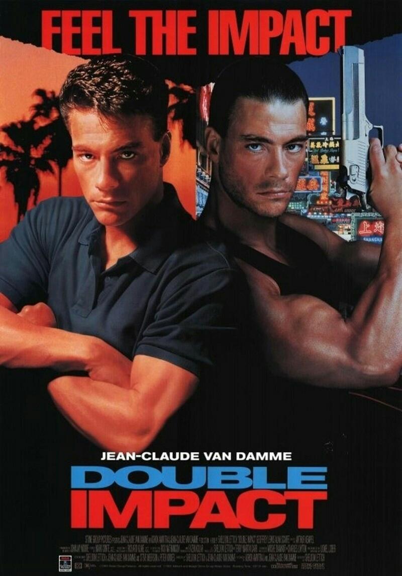 Πόστερ της ταινίας «Διπλός αντίκτυπος (1991)   Double Impact»