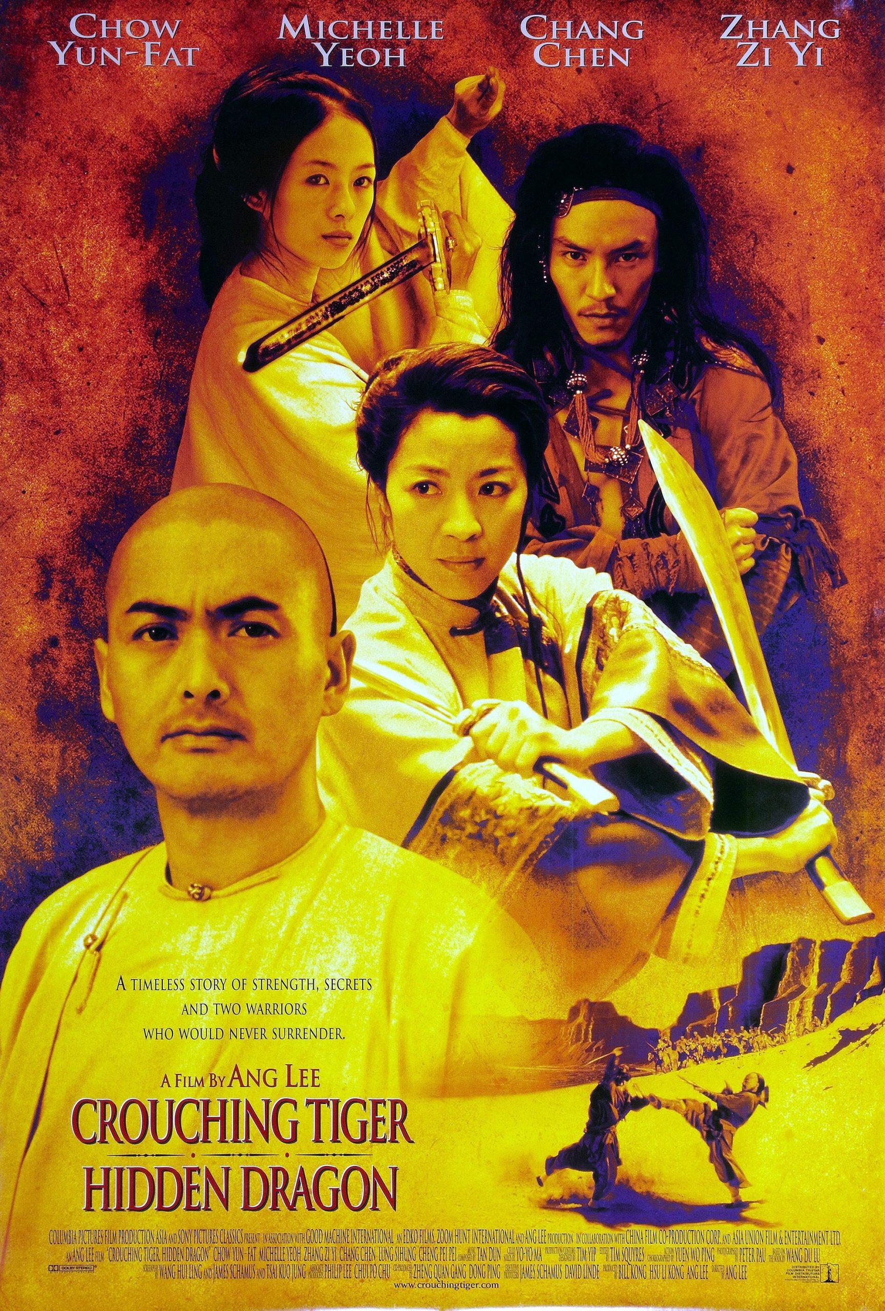 Πόστερ της ταινίας «Τίγρης και Δράκος (2000)   Crouching Tiger, Hidden Dragon»