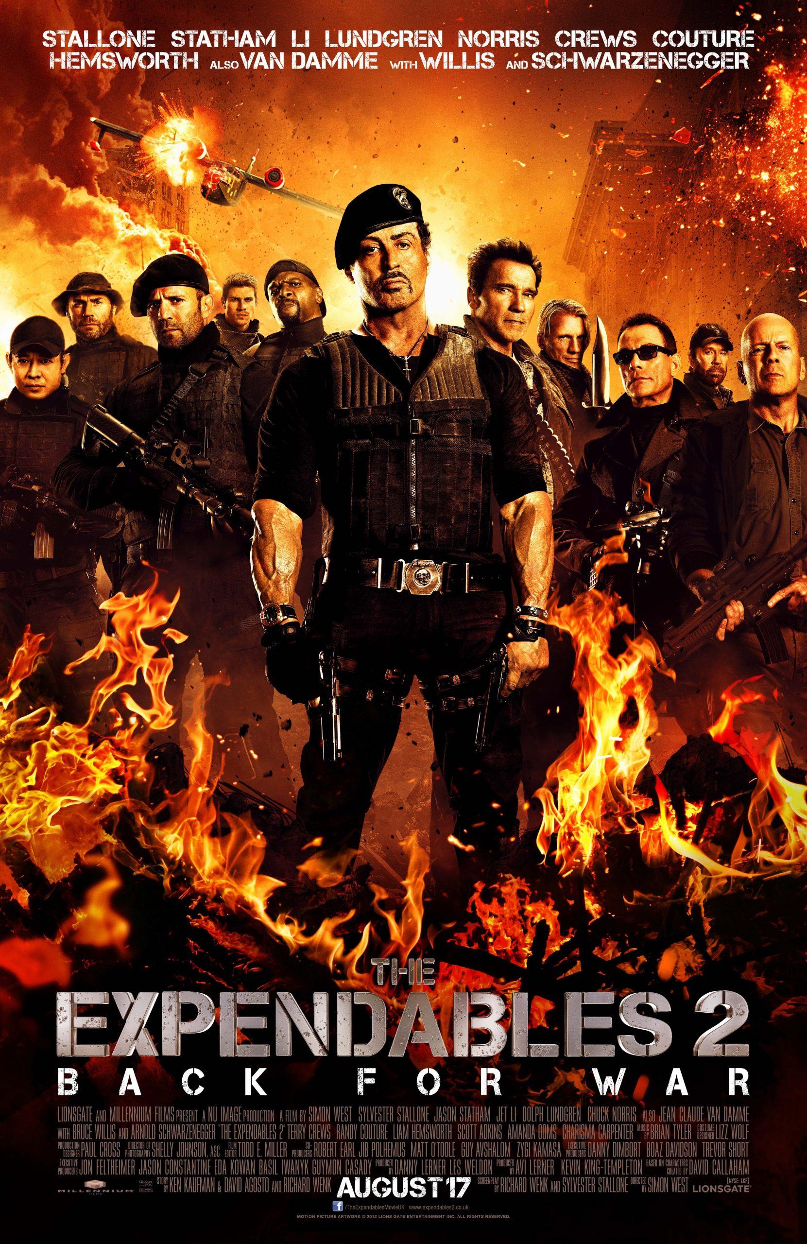 Πόστερ της ταινίας «Οι Αναλώσιμοι 2 (2012) | The Expendables II»