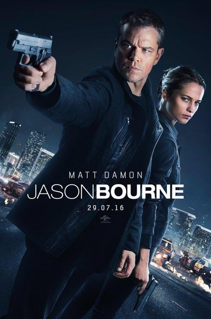Πόστερ της ταινίας «Τζέισον Μπορν (2016) | Jason Bourne»