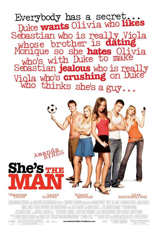 Πόστερ της ταινίας «Διαφορά Στήθους (2006) | Walk Like a Man, Talk Like a Man»