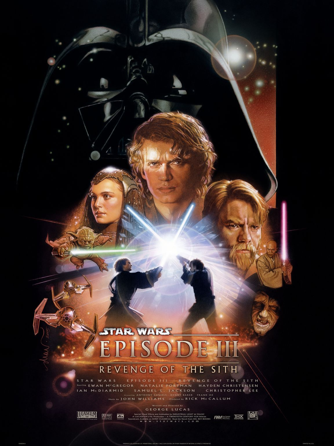 Πόστερ της ταινίας «Ο πόλεμος των άστρων: Επεισόδιο 3 – Η εκδίκηση των Σιθ (2005)»
