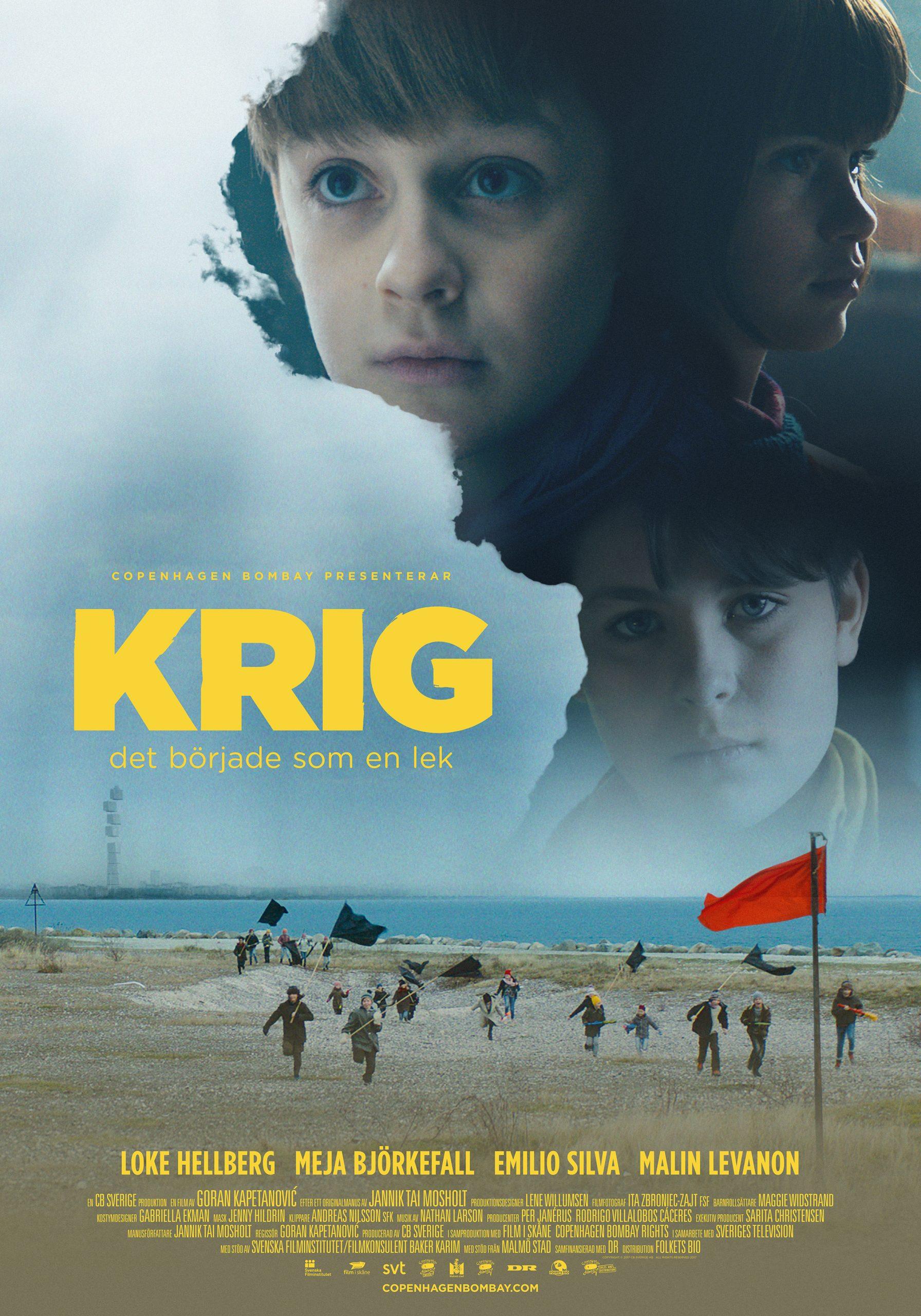 Πόστερ της ταινίας «Παιχνίδι πολέμου (2017) | Krig»