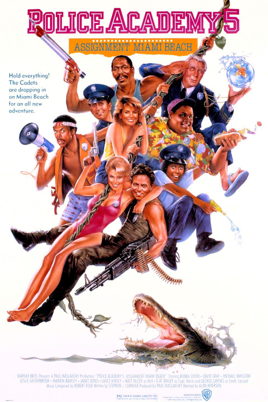 Πόστερ της ταινίας «Η Μεγάλη των Μπάτσων Σχολή 5 (1988)»