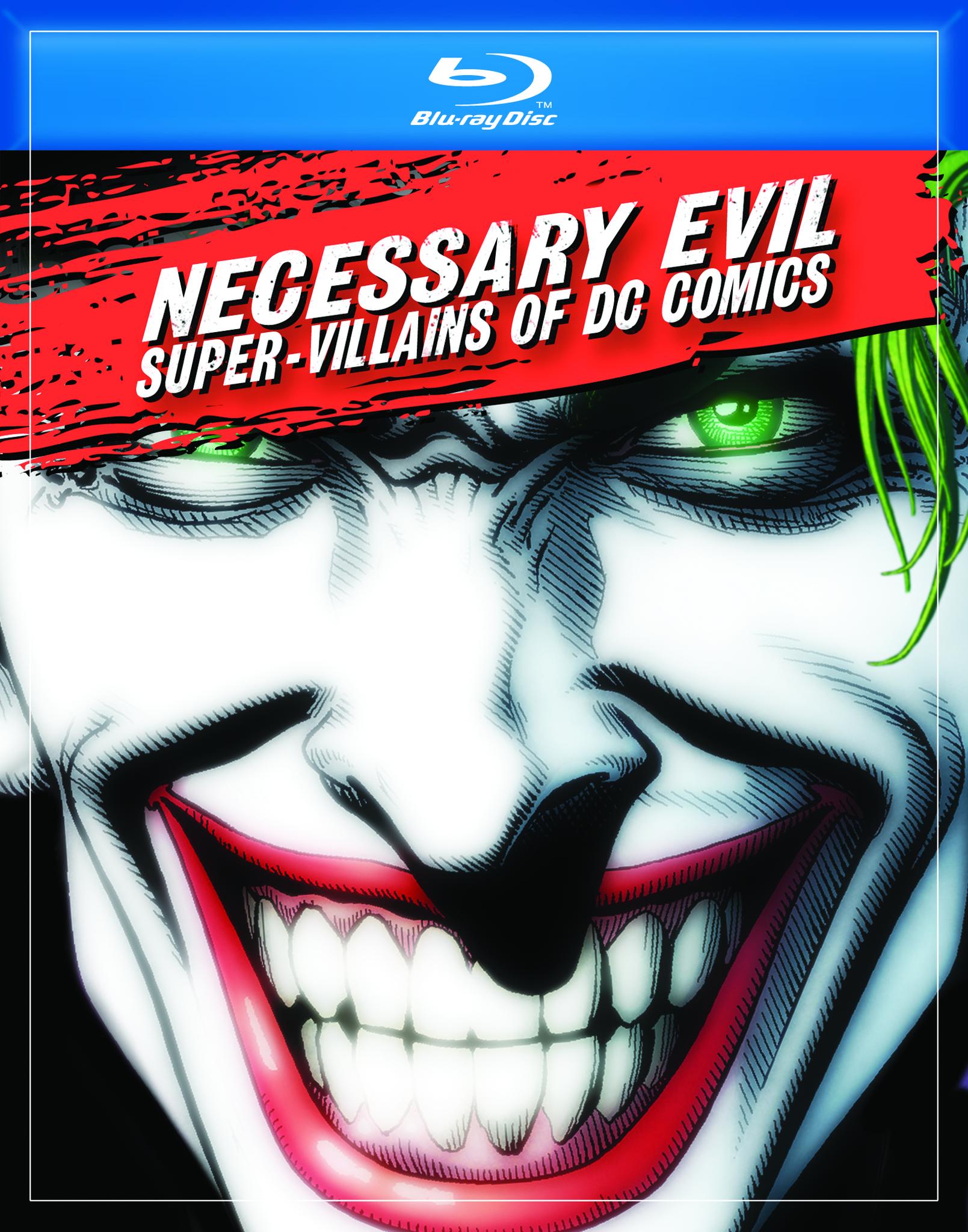 Πόστερ της ταινίας «Necessary Evil: Super-Villains of DC Comics (2013)»