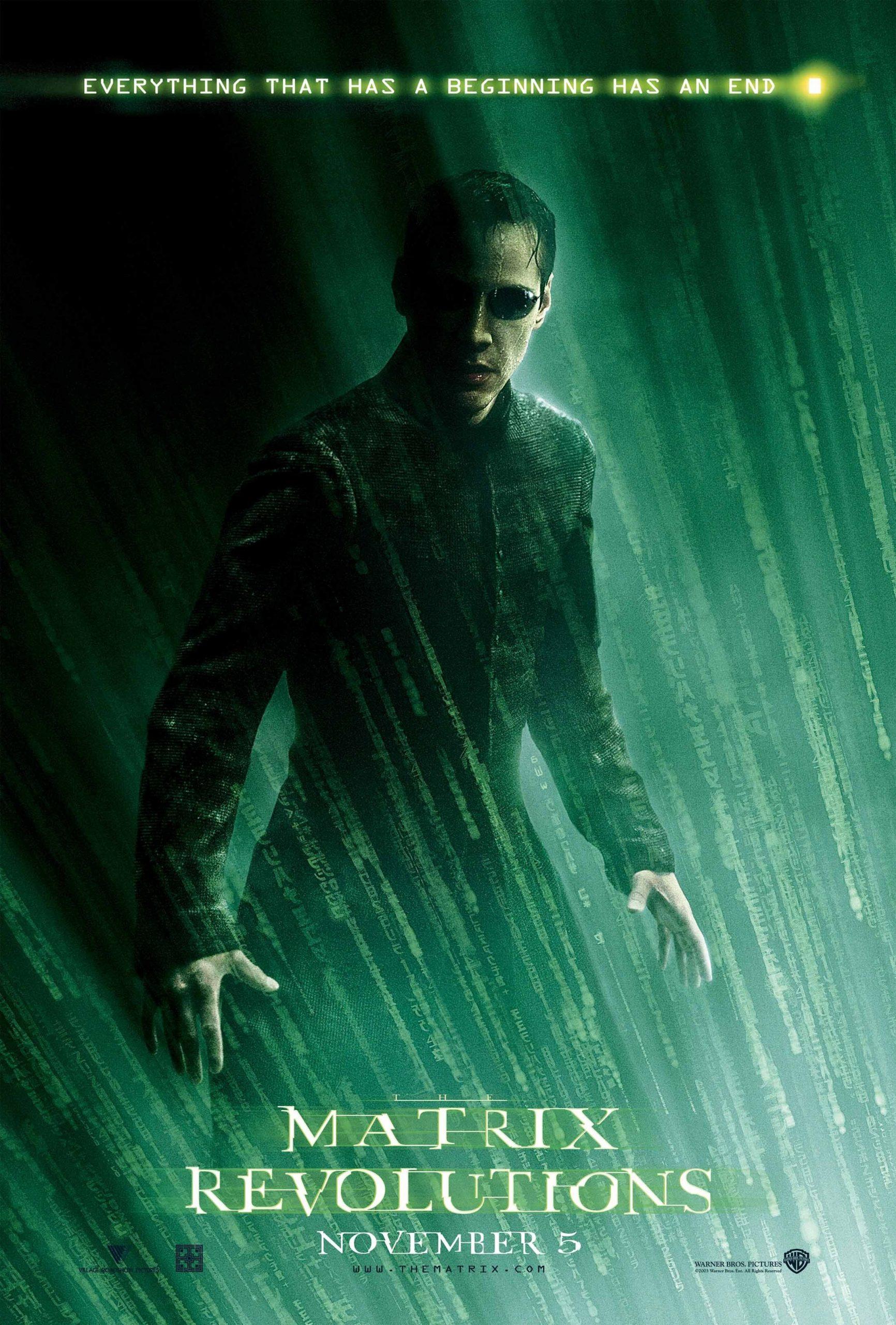 Πόστερ της ταινίας «The Matrix Revolutions (2003)   The Matrix 3»