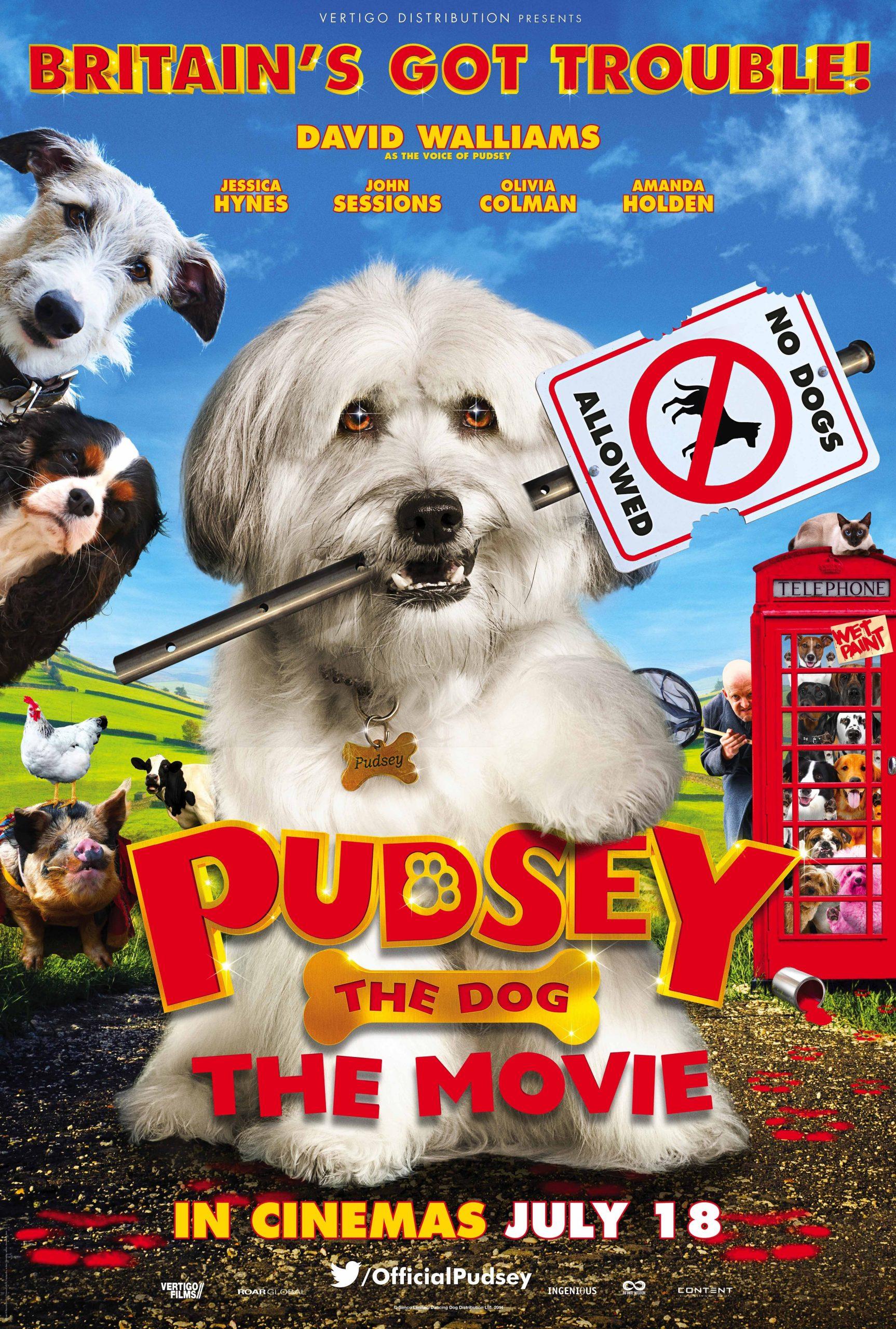 Πόστερ της ταινίας «Πάντσι, ο Σκύλος | Pudsey The Dog: The Movie (2014)»