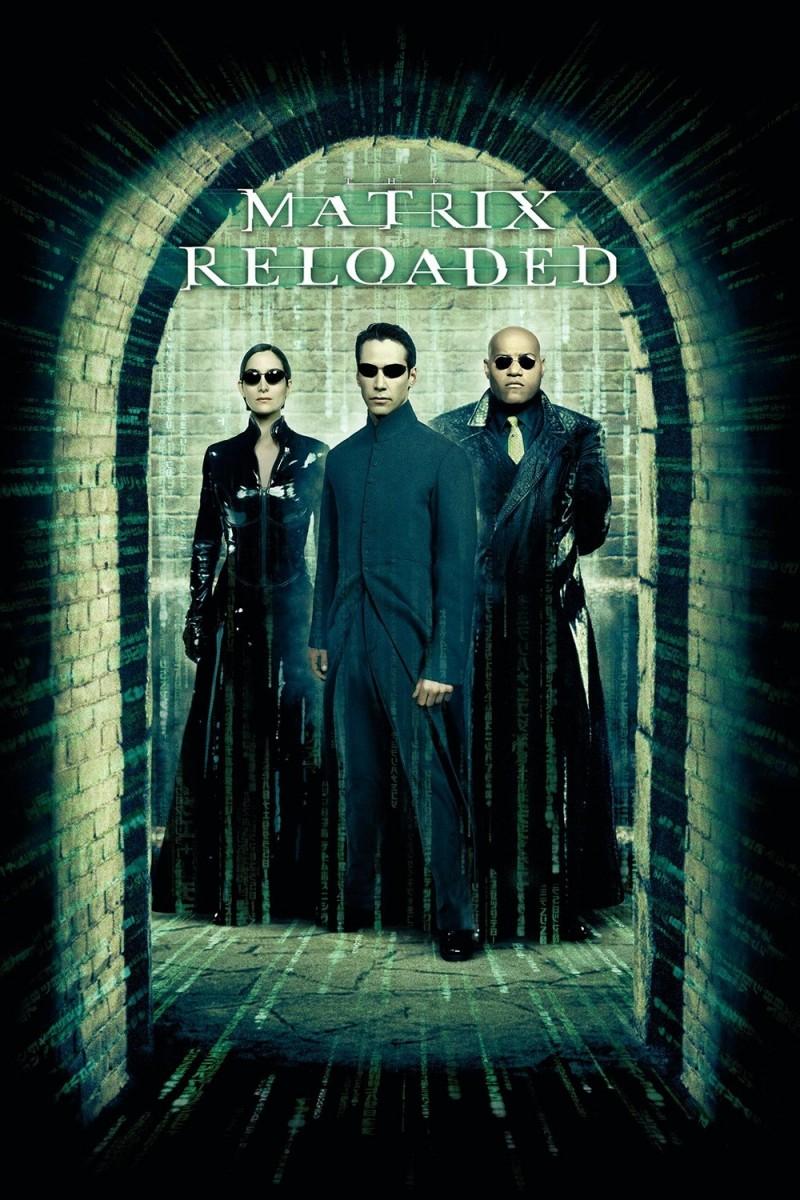 Πόστερ της ταινίας «The Matrix Reloaded (2003)   The Matrix 2»