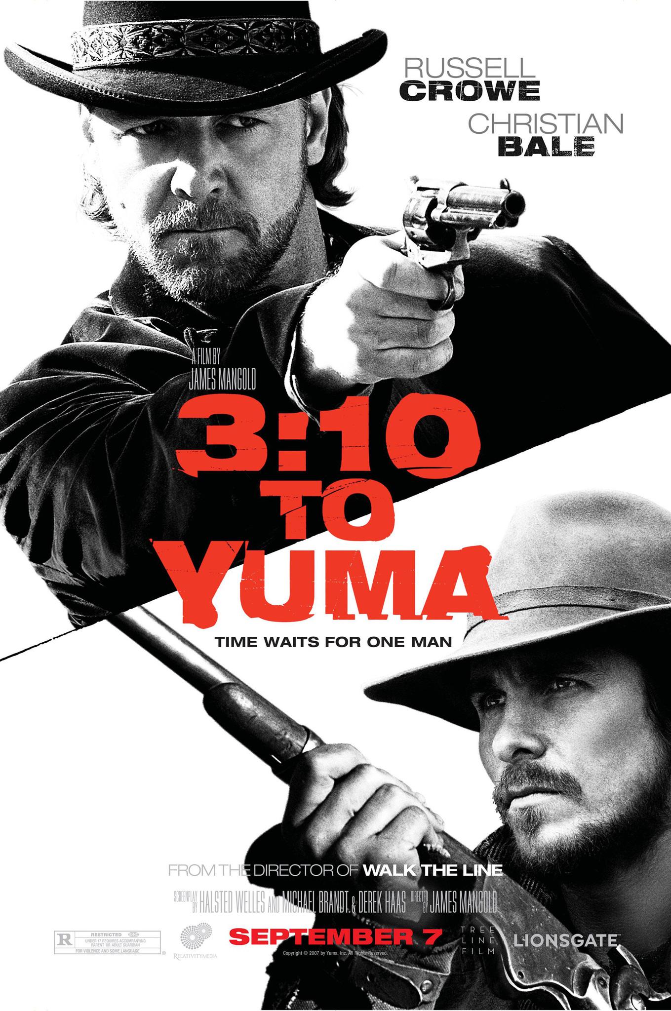 Πόστερ της ταινίας «Το τελευταίο τρένο για τη Γιούμα (2007)   3:10 to Yuma»