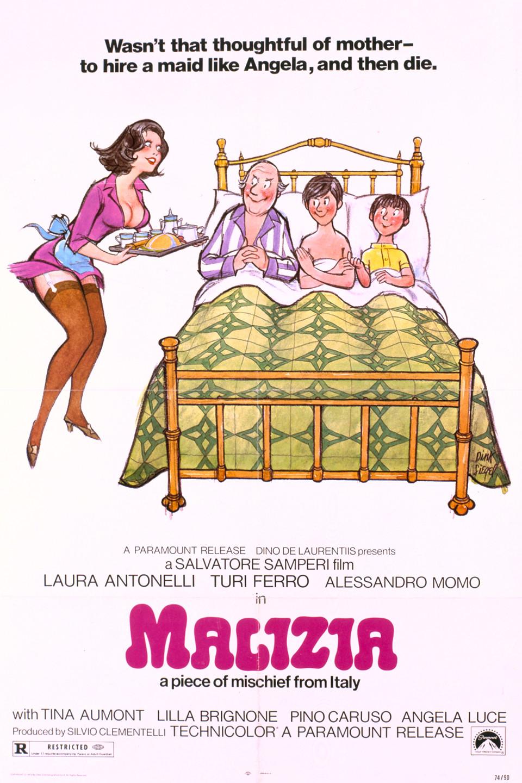 Πόστερ της ταινίας «Μαλίτσια (1973)   Malizia»