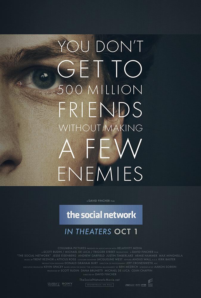 Πόστερ της ταινίας «Το κοινωνικό δίκτυο (2010) | The Social Network»