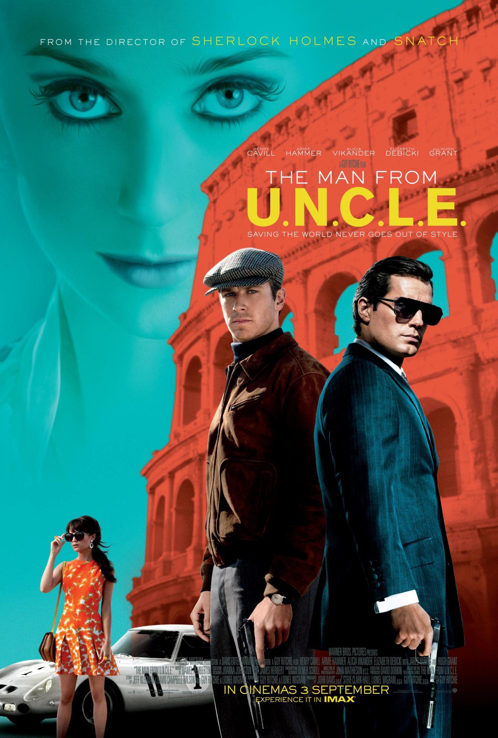 Πόστερ της ταινίας «Κωδικό όνομα U.N.C.L.E. (2015) | The Man from UNCLE»