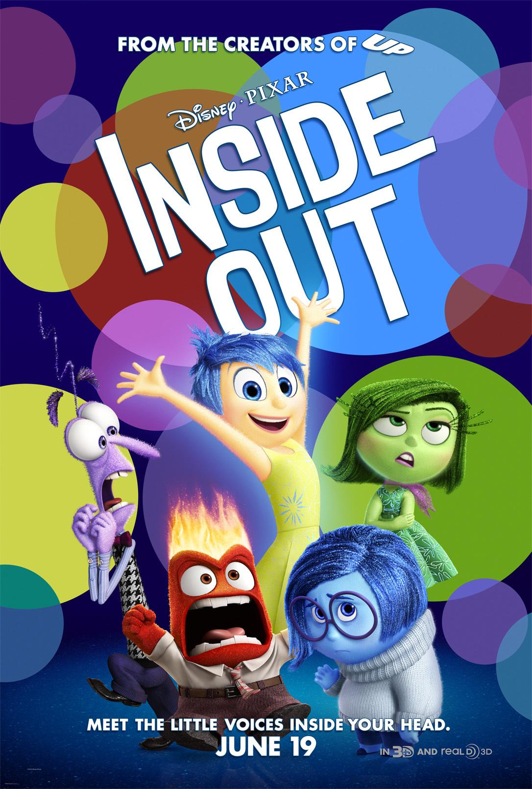 Πόστερ της ταινίας «Τα Μυαλά που Κουβαλάς (2015)   Inside Out»