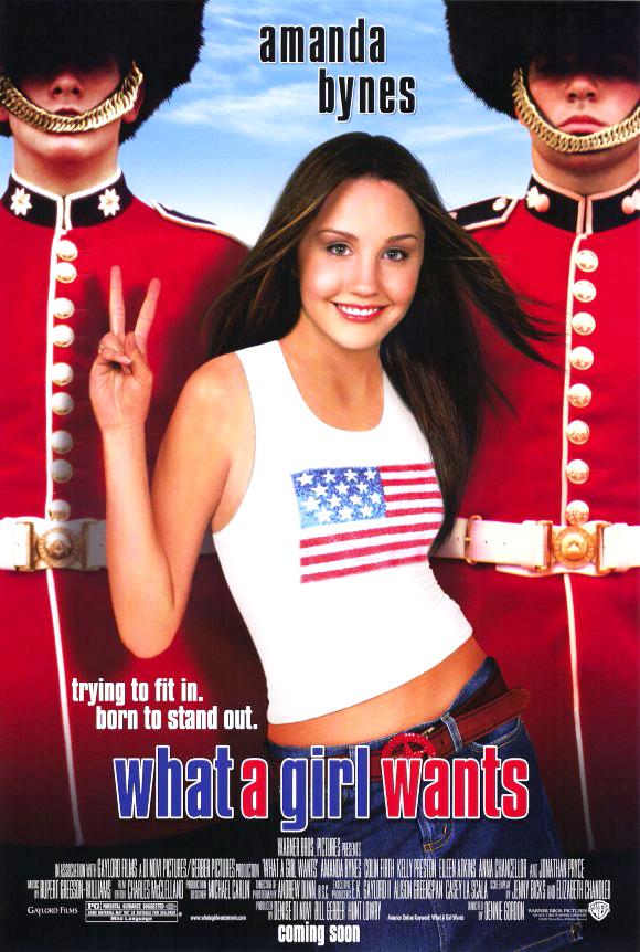 Πόστερ της ταινίας «Αυτό που Θέλει το Κορίτσι (2003)   What a Girl Wants»