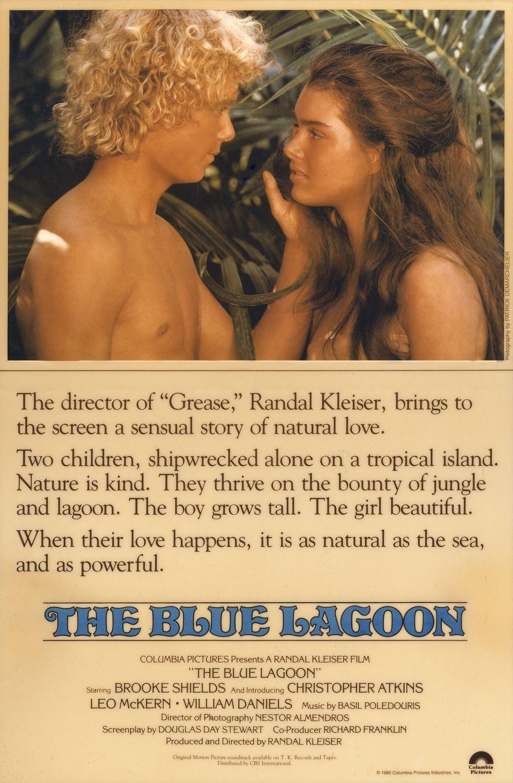 Πόστερ της ταινίας «Η Γαλάζια Λίμνη (1980) | The Blue Lagoon»