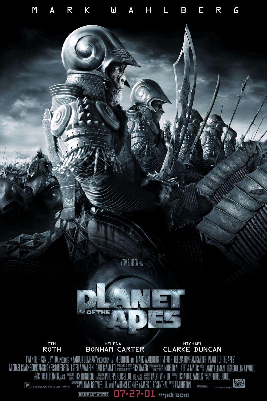 Πόστερ της ταινίας «Ο Πλανήτης των Πιθήκων (2001) | Planet of the Apes»