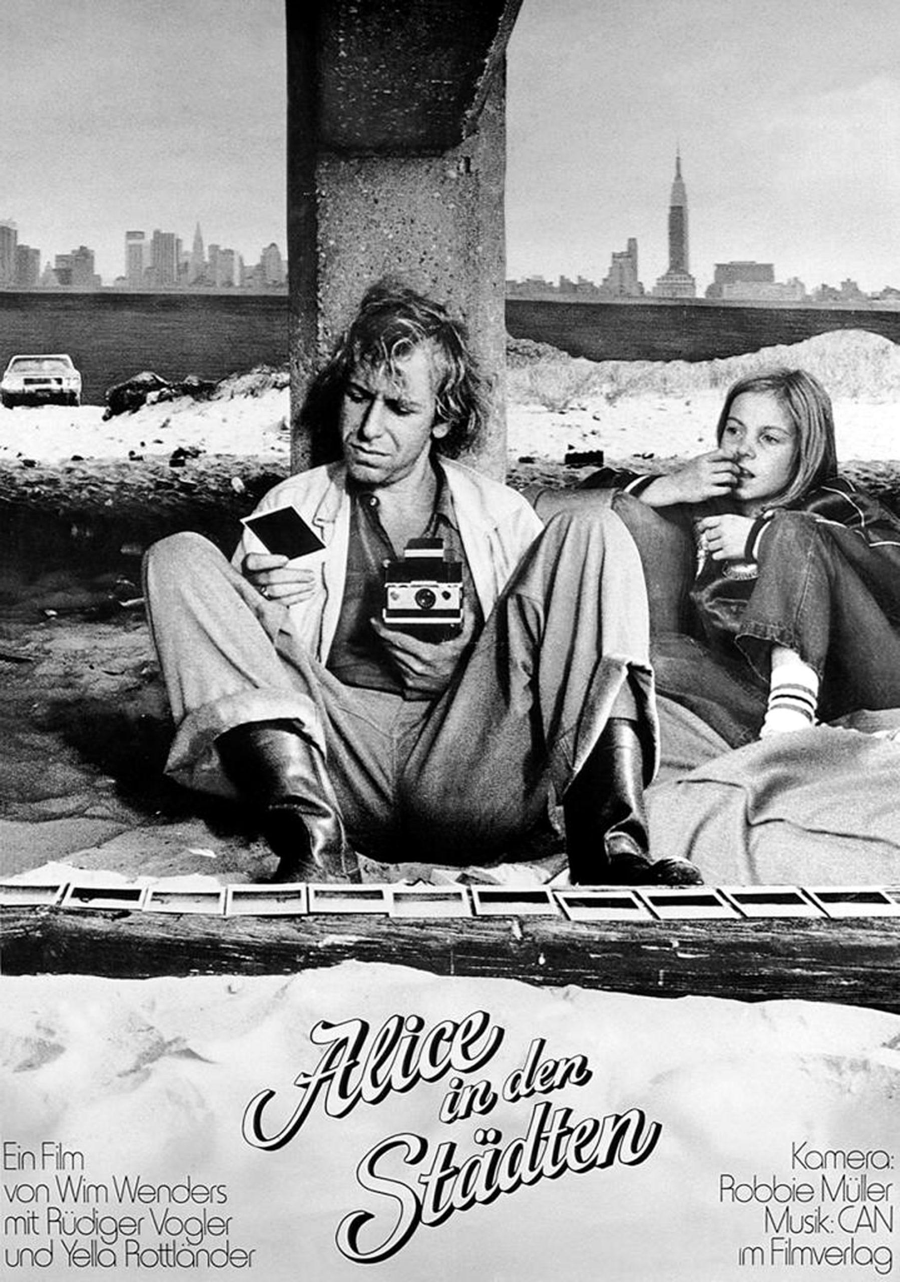 Πόστερ της ταινίας «Η Αλίκη στις πόλεις (1974) | Alice in the Cities»