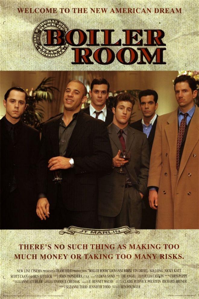 Πόστερ της ταινίας «Έκρηξη στο Χρηματιστήριο (2000) | Boiler Room»