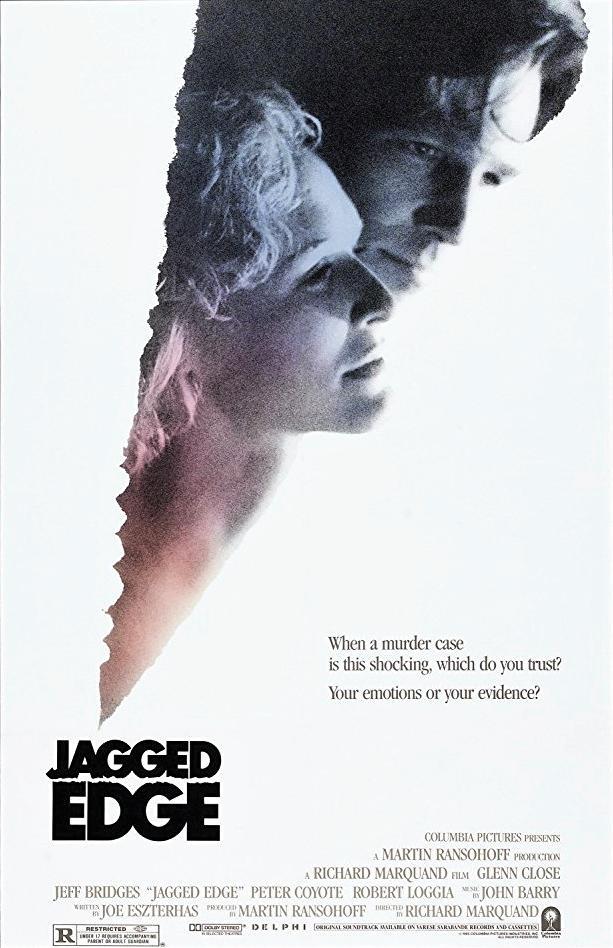 Πόστερ της ταινίας «Η Άκρη του Νήματος (1985) | Jagged Edge»