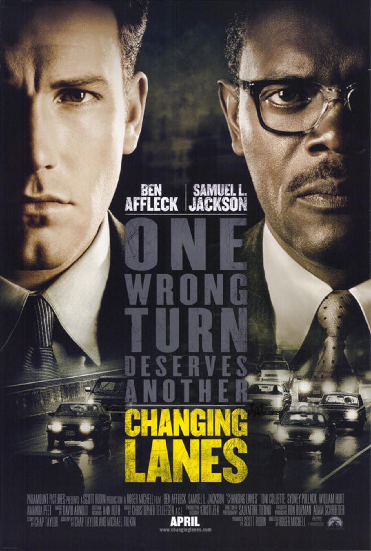 Πόστερ της ταινίας «Σε αντίθετο ρεύμα (2002)   Changing Lanes»