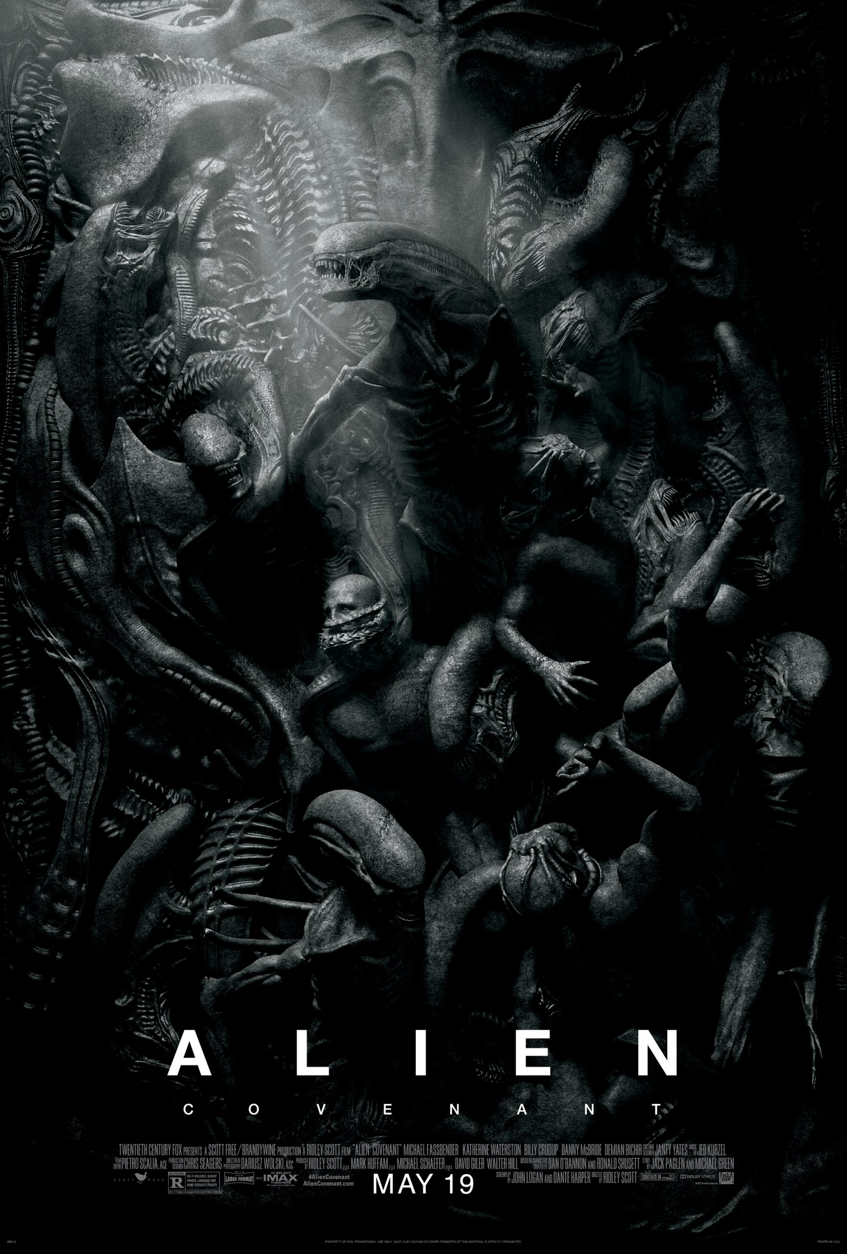 Πόστερ της ταινίας «Alien: Covenant (2017)»