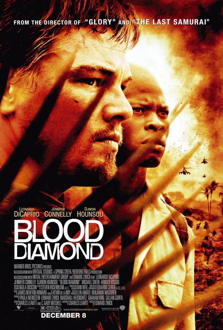 Πόστερ της ταινίας «Ματωμένο Διαμάντι (2006)   Blood Diamond»