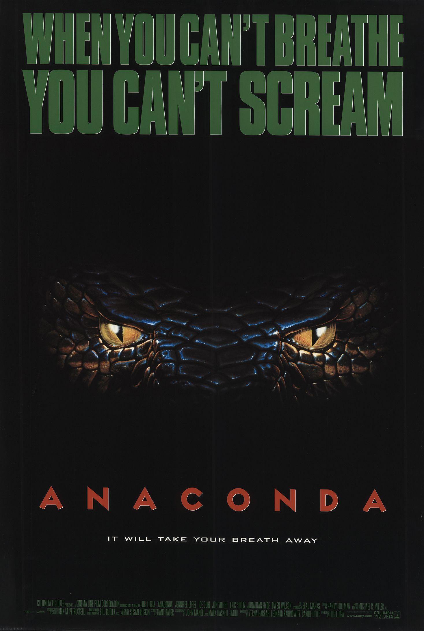 Πόστερ της ταινίας «Ανακόντα (1997)   Anaconda»