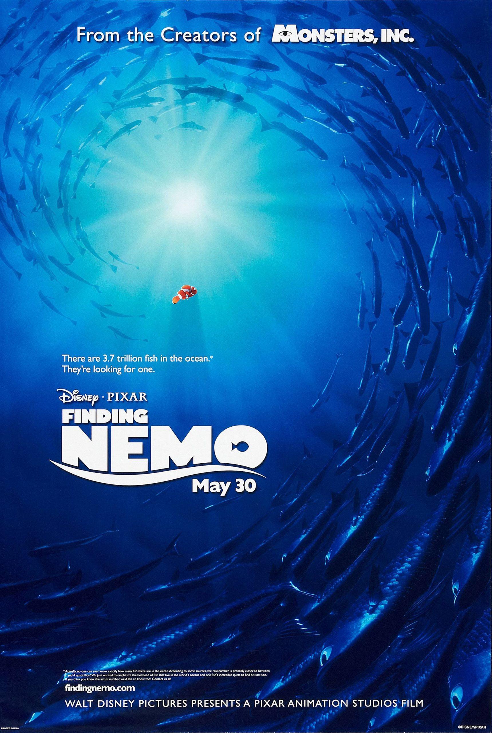 Πόστερ της ταινίας «Ψάχνοντας τον Νέμο (2003) | Finding Nemo»