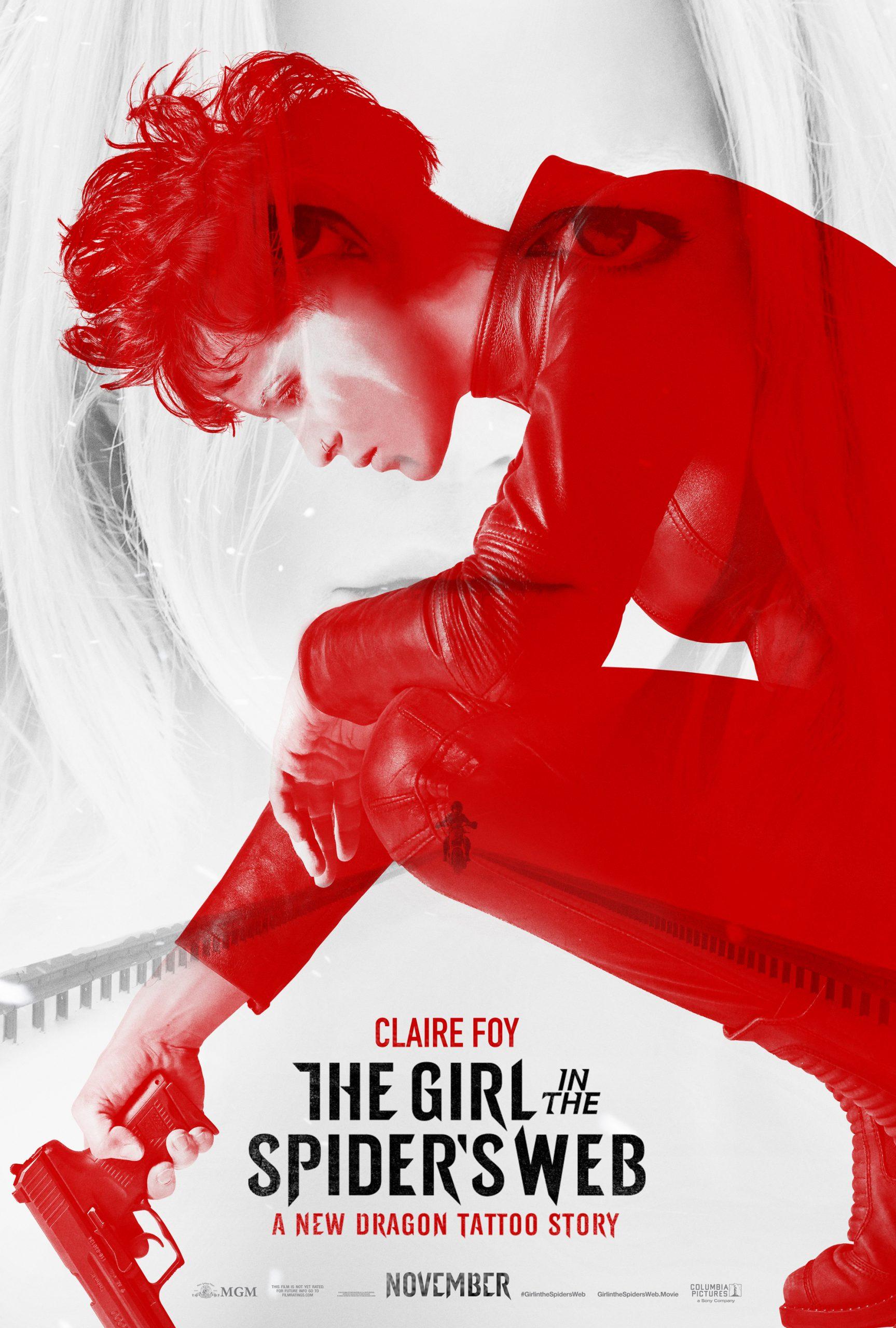Πόστερ της ταινίας «Το Κορίτσι στον Ιστό της Αράχνης (2018)»