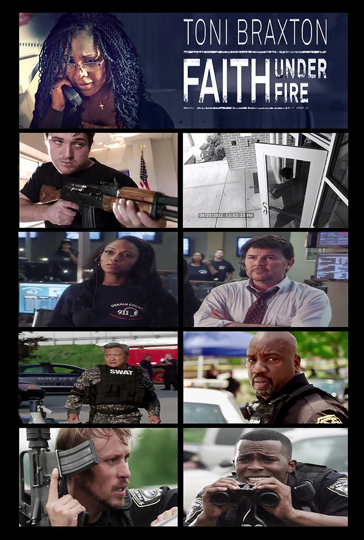 Πόστερ της ταινίας «Faith Under Fire (2018)»