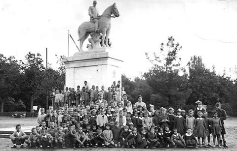 Άγαλμα Βασιλιάς Κωνσταντίνος Α