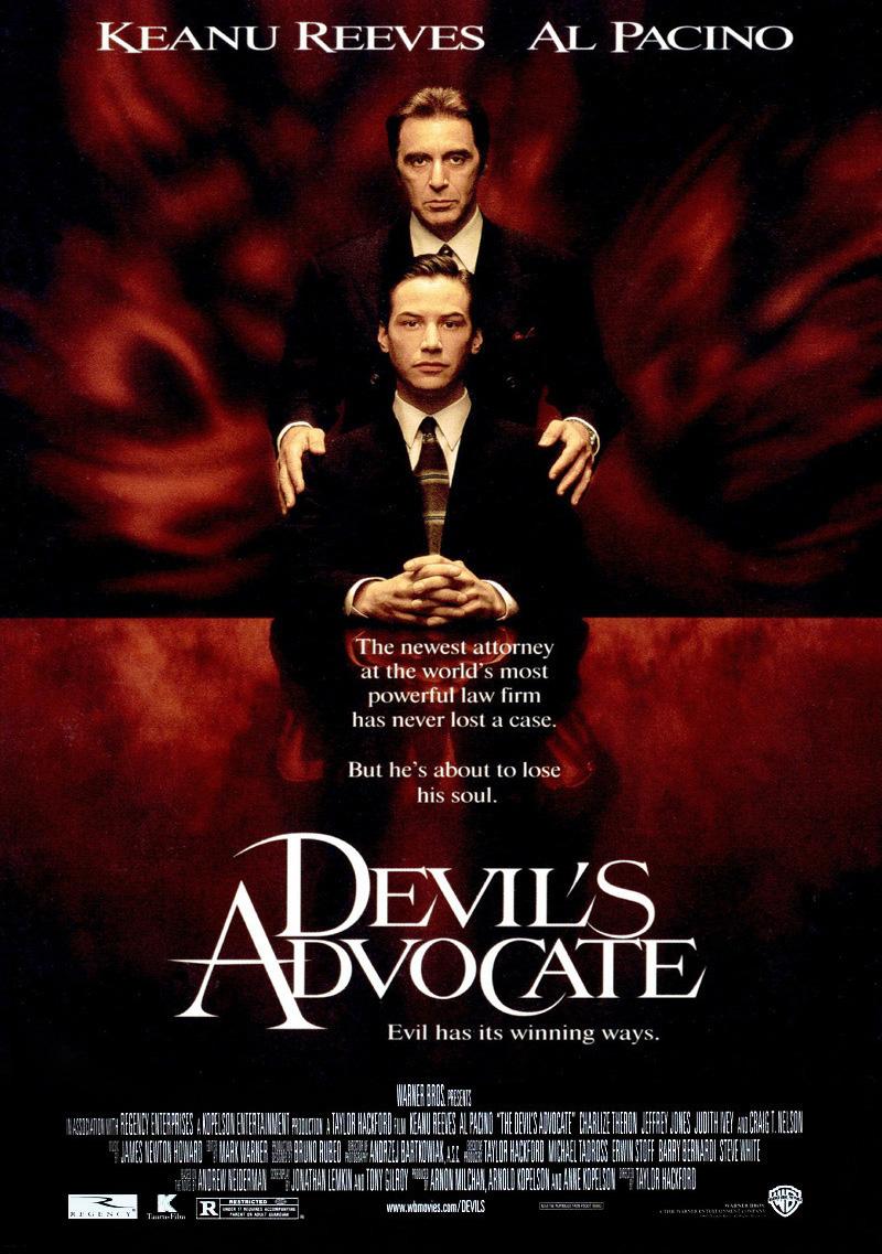 Πόστερ της ταινίας «Ο Δικηγόρος του Διαβόλου (1997)   The Devil's Advocate»
