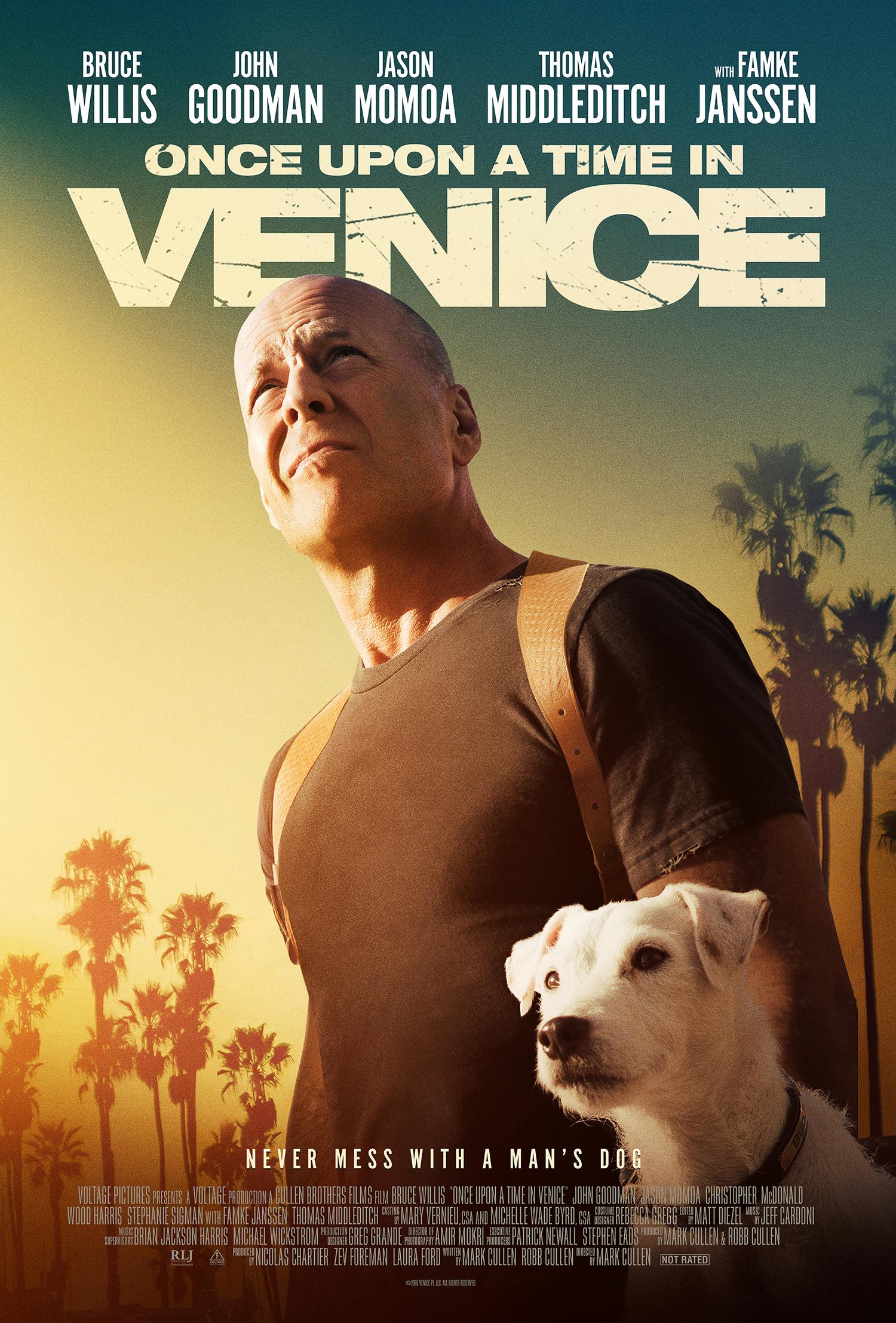 Πόστερ της ταινίας «Κάποτε στην Καλιφόρνια (2017)   Once Upon a Time in Venice»