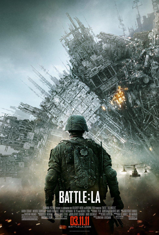 Πόστερ της ταινίας «Παγκόσμια Εισβολή (2011)   Battle Los Angeles»