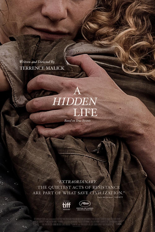 Πόστερ της ταινίας «Μια Κρυφή Ζωή (2019)   A Hidden Life»