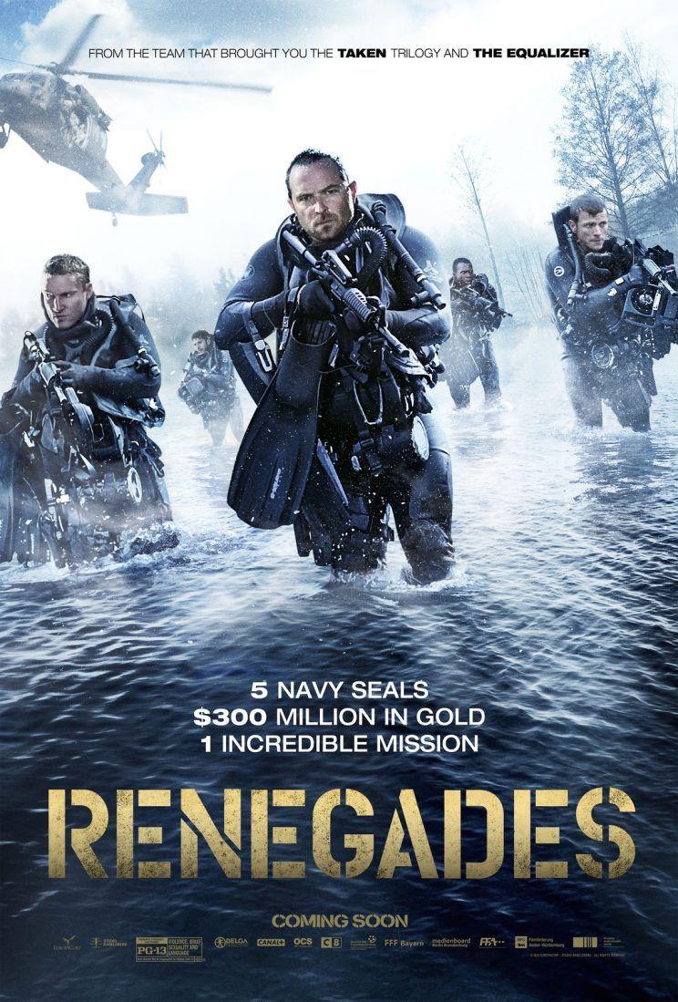 Πόστερ της ταινίας «Ομάδα Υποβρύχιων Καταστροφών (2017) | Renegades»